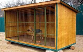 Как правильно построить вольер для собаки?