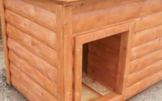 Как построить будку для собаки?